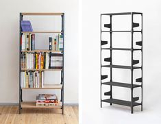 daniel becker design studio: vincent bookshelf