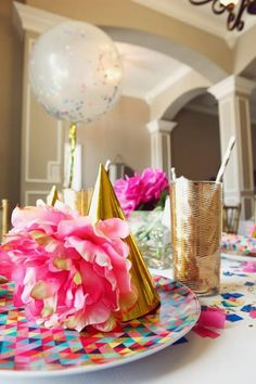 Little Big Company | The Blog: Glitz and Glamour Party by Oh Goodie Designs.