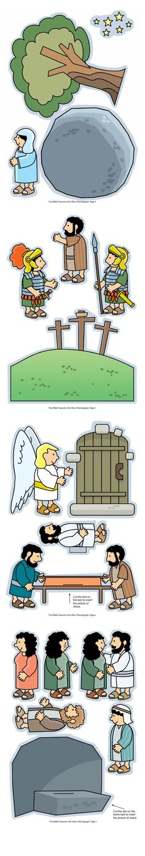 Calvario y resurrección de Lázaro