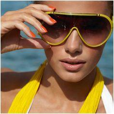 Neon brights sunglasses