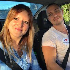 Nos vamos de paseo!!!  .  #pareja #couple #selfie #amor #love #felices #smile #compartir #momentos #felicidad #juntos #zaragoza
