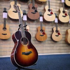 """Check out this beaut, a Taylor 712E-12Fret - Description by Matt (one of our in-store guitar experts at Banks Musicroom) """"Like all of Taylor's 12 fret concert models, the neck on this 712E joins the body at the 12th fret, rather than the 14th. The bridge position is also closer to the centre of the lower bout, resulting in a splash of extra tone depth..."""" Find out more about the amazing guitars in-store at Banks Musicroom by visiting our blog - musicroom.com/blog"""