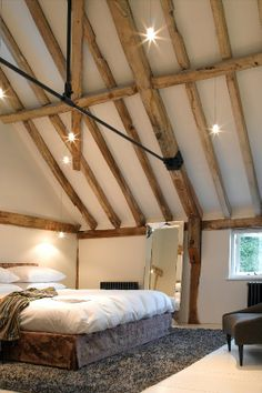 Mill Room East features exposed beams and have views overlooking across the mill pond