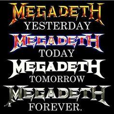 MEGADETH FOR LIFE. #Megadeth #DaveMustaine #DavidEllefson #KikoLoureiro…