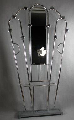 Seltene ART DECO - Standgarderobe - Garderobe