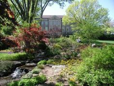 Cheekwood Botanical Garden, Nashville, TN. This place is amazing. Beautiful grounds and fabulous home you can tour.