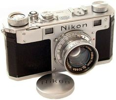 """1948 """"Nikon I"""" the first Nikon model made. I could stare at this camera for days, I love everything about it."""