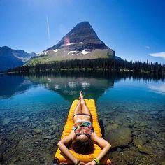 Hidden lake trail, Glacier National Park. Photo by: @travisburkephotography Explore. Share. Inspire: #earthfocus #tagforlikes #beautifulpic #photooftheday #mothernature