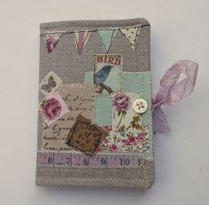 Needle Case - Linen - Collage