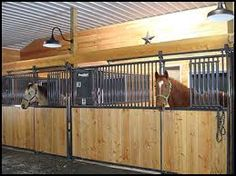 barn with priefert stalls - Google Search