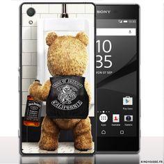 Coque pour Sony Z5 Teddy Sons of Anarchy. #Sony #Xperia #Z5 #Teddy #SOA