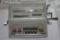 Eski hesap makinesi
