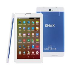 Amandda KMAX 7 Inch 3G Android Tablet (Quad-core) IPS Display, 16GB, Dual Cameras, WiFi