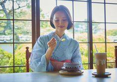 KimonostyleCafe 名産の夏みかんゼリーと夏みかんジュース