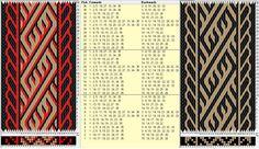 35 tarjetas, 3 / 2 colores, repite cada 12 movimientos // sed_319a diseñado en…