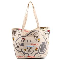 JAPAN SNOOPY PEANUTS CANVAS SHOULDER BAG 255735 in Collectibles, Animation Art & Characters, Japanese, Anime | eBay
