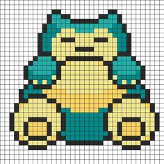 snorlax pixel charts - Buscar con Google