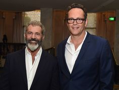 Actors Mel Gibson and Vince Vaughn attend the Hollywood Foreign Press Association's Grants Banquet.