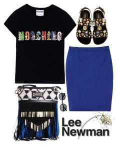 """Shop Desigual at LeeNewman.com"" by dora04 ❤ liked on Polyvore featuring Moschino, Boden, Dolce&Gabbana and Topshop"