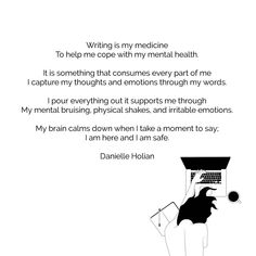 Calm Down, My Brain, Help Me, Thats Not My, Medicine, Poetry, Thoughts, Writing, Words