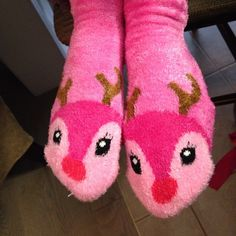 My reindeer are pretty in pink!#xmassocks
