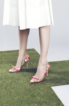 Floral pumps are a must for spring!