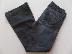 X2 Women's Jeans Size-2 S Flare Zipper Fly Blue Nice!  #X2 #Flare