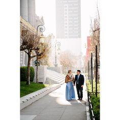 And moody lighting. #ellephotographs San Francisco City Hall Wedding Elopement