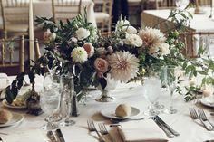 MatriMOny details, Putnam & Putnam flowers
