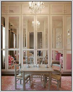 Lovely Mirrored Bifold Closet Doors More