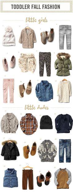   Toddler Fall Fashion  :