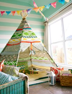 11 Easy DIY Play Tents for Kids