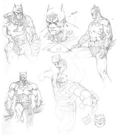 Batman art by Jim lee
