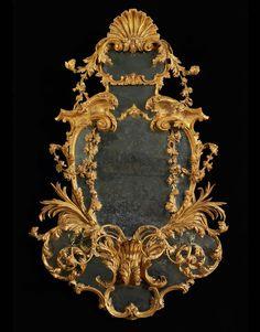 A PAIR OF GEORGE III GIRANDOLES - Mallett Antiques