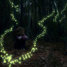 Follow the faeries ~ Nikko Russano #photography #fairy