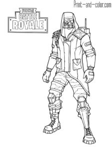 76 Best FORTNITE COLORING PAGES images in 2019 Coloring