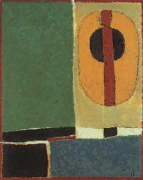 Soleil et Récifs, circa By Françoise Gilot (France, born Oil on canvas. Francoise Gilot, Art Picasso, Cubism, French Artists, Art Day, Impressionist, Art Quotes, Paint Colors, Oil On Canvas