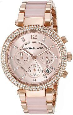 www.newtrendsclot... Michael Kors Womens Parker Two-Tone Watch More
