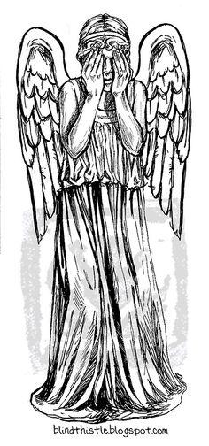 Weeping angel....hmmmmmm tattoo?