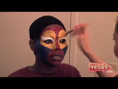 Vegas Puts Its Face On - YouTube