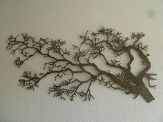 3D metalen muurdecoratie boom Orientalis - Muurdecoratie Bomen - WANDDECORATIE METAAL | DEKOGIFTS Leaf Tattoos, Dream Catcher, Leaves, Dreamcatchers, Dream Catchers