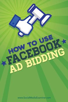 Do you use Facebook ads?  Understanding how to use Facebook ad bidding will help you reach your campaign goals for less money.  In this article you'll discover how to use Facebook ad bidding with your Facebook ad campaigns. Via @smexaminer.