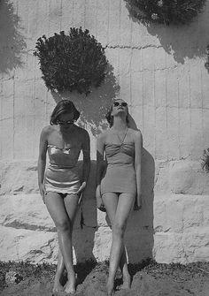 #vintage #beach #summer #swimsuit