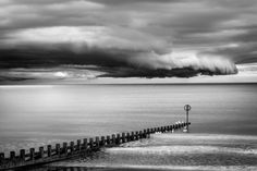 Stormy Clouds - #StormyClouds #stylianosphotography#seastorm #clouds #black&white #blackandwhitephotography