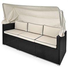 Garden Furniture Bed outsunny rattan rocking chair rocker garden furniture seater patio