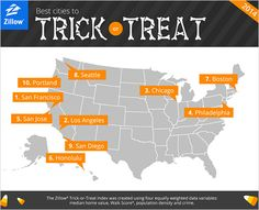 School hours and curfews have compressed trick-or-treating timeframes, forcing kids to strategize for maximum candy collection. Halloween Math, Halloween Projects, Halloween Ideas, Best Cities, Favorite Holiday, Trick Or Treat, Places To Go, Things To Come, Treats