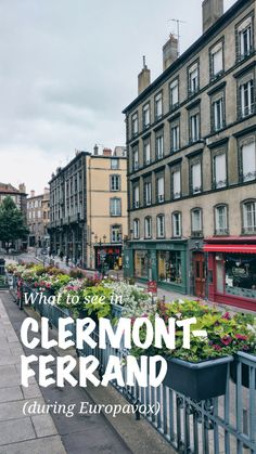 What to do in Clermont-Ferrand, Auvergne, France #france #clermontferrand #auvergne