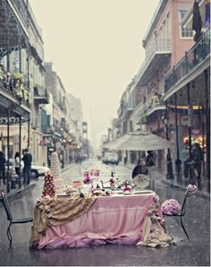 street tea party