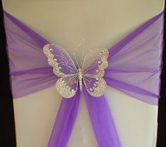 XL Butterfly Wedding Chair Sash Decoration Top Table Gold or Silver Clip On in Home, Furniture & DIY, Wedding Supplies, Other Wedding Supplies Wedding Chair Sashes, Wedding Chair Decorations, Wedding Chairs, Decoration Table, Wedding Themes, Wedding Centerpieces, Table Wedding, Wedding Reception, Wedding Ideas