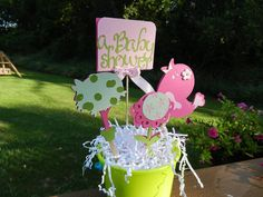 Baby Shower Table Centerpiece Table Decorations by table4six,